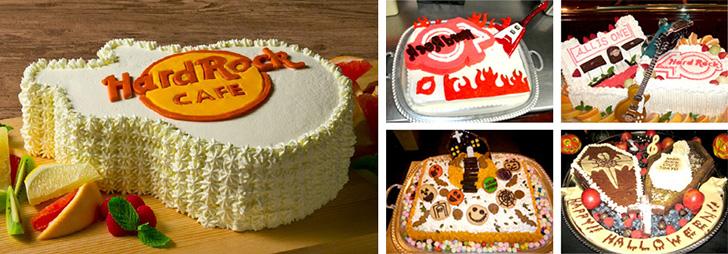 ハードロックカフェのオーダーケーキ