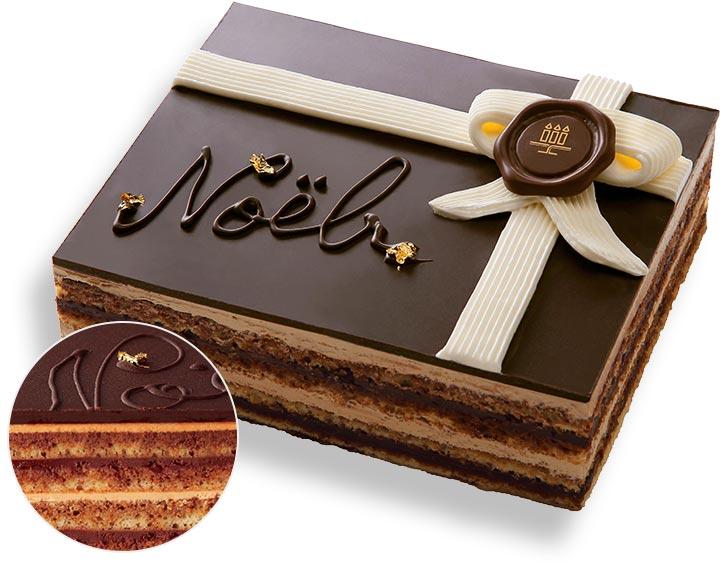 アンリ・シャルパンティエのクリスマスケーキ オペラ・ドゥ・ノエル
