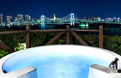 ヒルトン東京お台場 お台場(東京ベイエリア)の夜景が見えるホテル