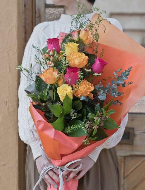 バラ花束 ミックスMスタンダード