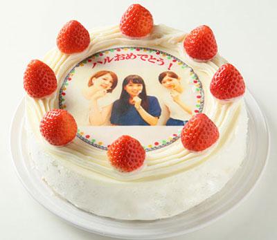 イチゴのショートケーキの写真ケーキ
