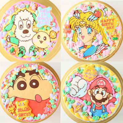 キャラクターケーキ好きなキャラクターのイラストを描いてくれるケーキ