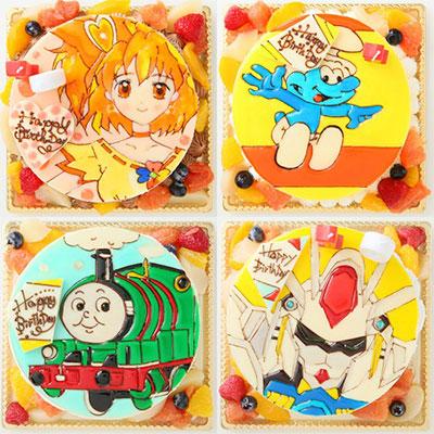米粉のキャラクターケーキ