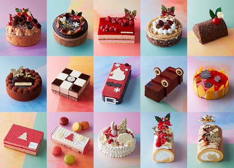 日本橋三越・伊勢丹のクリスマスケーキ