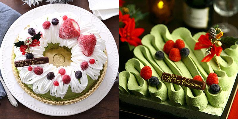 抹茶スイーツで人気!「伊藤久右衛門」のクリスマスケーキ