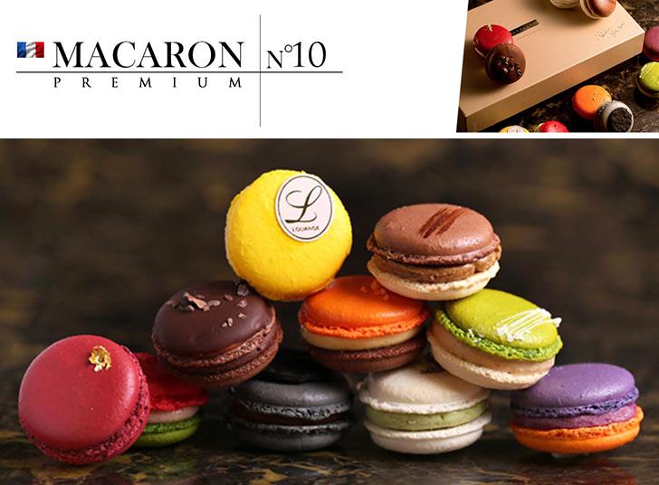 色鮮やかなデザインと10種類の繊細なテイストを五感で楽しんで頂く新感覚マカロン プレミアム マカロン PREMIUM MACARON