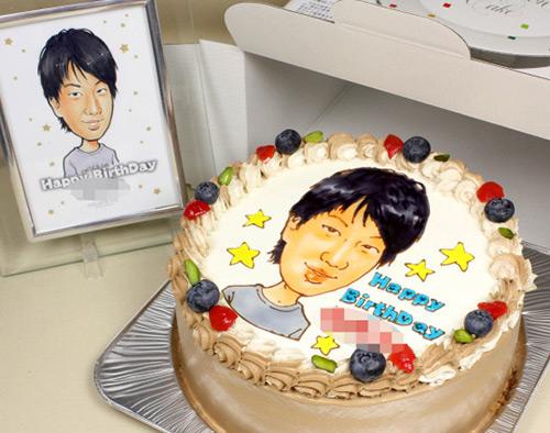 デコケーキ通販 decocake.jp 似顔絵ケーキ