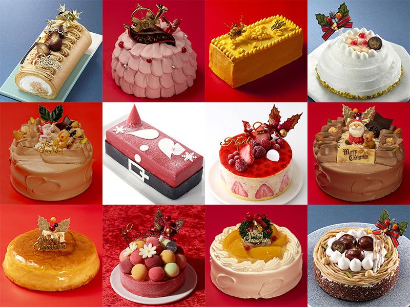 小田急のクリスマスケーキ