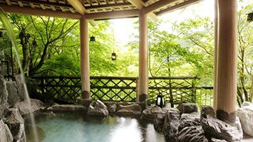 山梨エリアで絶景露天風呂が貸切できる温泉宿