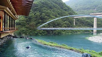 栃木エリアで絶景露天風呂が貸切できる温泉宿