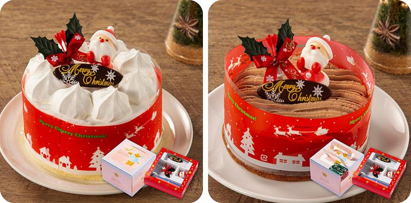 九州お取り寄せ本舗のクリスマスケーキ
