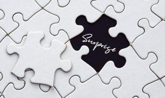 手作りジグソーパズルでサプライズ