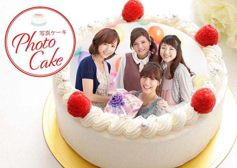 シェリーブランのオリジナル写真ケーキ『Photo Cake』