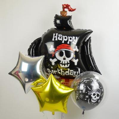 海賊 パイレーツのバースデーバルーン