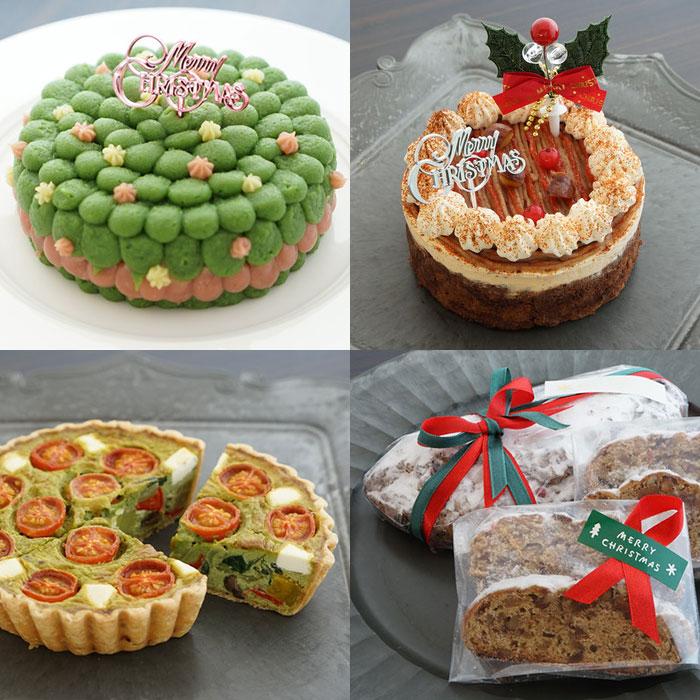 野菜スイーツ専門店パティスリー ポタジエのクリスマスケーキ