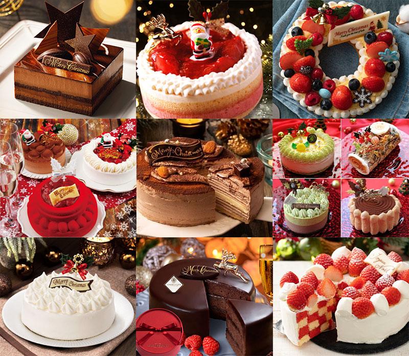 楽天市場のクリスマスケーキ
