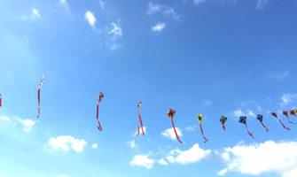 連凧サプライズ