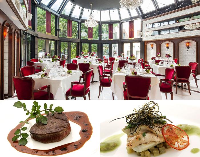青山エリュシオンハウス 素敵なレストラン