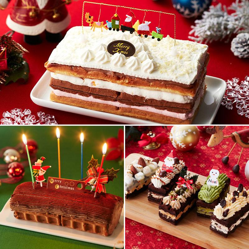 ワッフル屋さんエール・エルのクリスマスケーキ