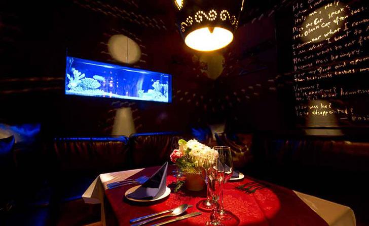 東京都・六本木/他各国料理 DINNING & LOUNGE バハマールの店内 個室