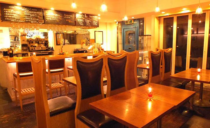 東京都・乃木坂/イタリアン ENZO pasteria(エンゾ パステリア)の店内