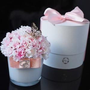桜のフラワーアレンジメント エレガンス・チェリー プロポーズギフト