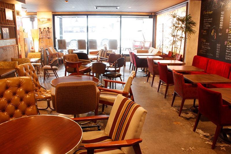 桜丘カフェ(渋谷)テレビドラマで使われたカフェ