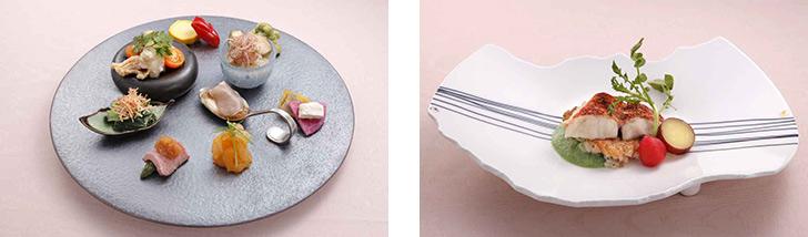 東京都・渋谷/日本料理・創作和食 渋谷 なだ万茶寮の料理