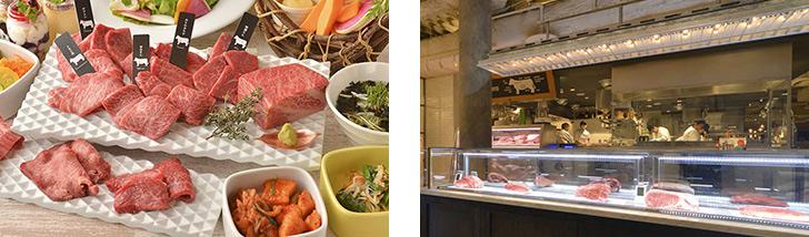 東京都・新宿三丁目/焼肉 熟成和牛焼肉 エイジング・ビーフ TOKYO 新宿三丁目店の料理 肉