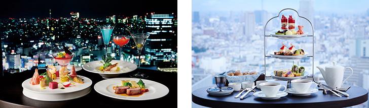 東京都・新宿/デザート スカイラウンジ オーロラ/京王プラザホテルの料理 デザート