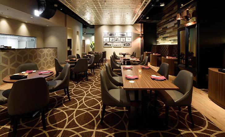 東京都・新宿/オールジャンル Steak&Italian Griante(ステーキ アンド イタリアン グリアンテ)の店内