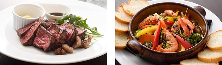 東京都・新宿/オールジャンル Steak&Italian Griante(ステーキ アンド イタリアン グリアンテ)の料理