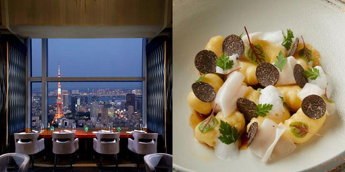 スカイツリーが見えるレストラン タワーズ/ザ・リッツ・カールトン東京