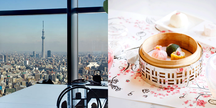 スカイツリーが見えるレストラン  広東料理 センス/マンダリン オリエンタル 東京