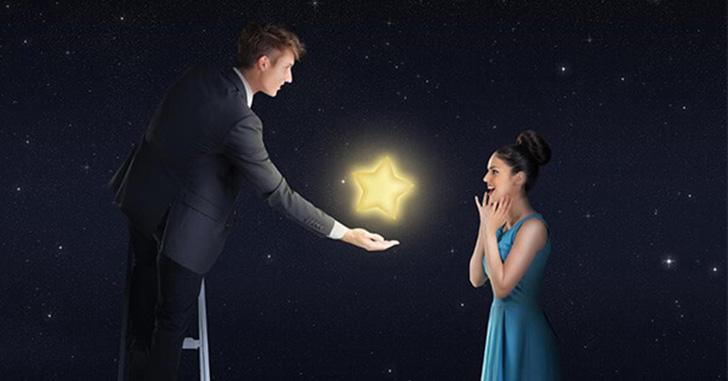スターネーミングギフト 星に名前をつけてプレゼントできるサプライズ