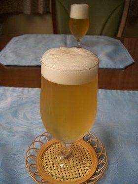 ビールのようなゼリー♪ プライズな料理 だまし料理
