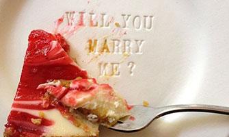 アイデアが際立つサプライズプロポーズ&愛の告白画像