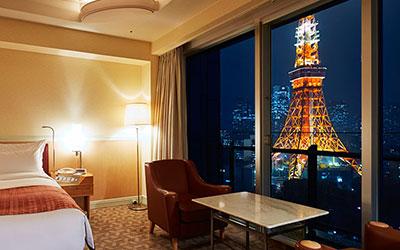 ザ・プリンス パークタワー東京の東京タワーが見える部屋