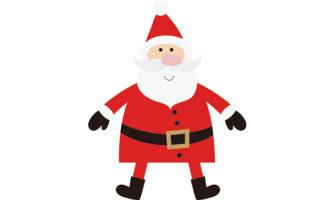 クリスマス向けガーランドが作れる! サンタクロースをモチーフにしたガーランド素材
