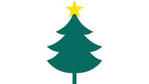 クリスマス向けガーランドが作れる! クリスマスツリーをモチーフにしたのガーランド素材