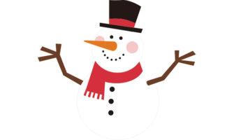 クリスマス向けガーランドが作れる! 雪だるまをモチーフにしたのガーランド素材