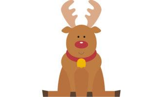 クリスマス向けガーランドが作れる! トナカイをモチーフにしたのガーランド素材
