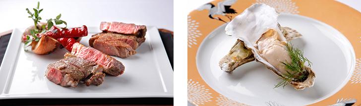 東京都・東京/日本料理・創作和食 SAMURAI dos Premium Steak House 八重洲鉄鋼ビル店の料理