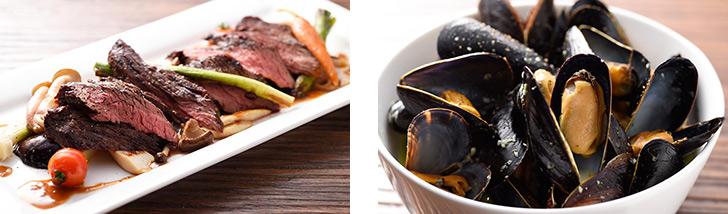 東京都・京橋/フレンチ 世界食堂 Transit Table d'Or(トランジット ターブル ドール)の料理