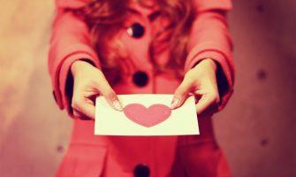 手作りバレンタインカードアイデア