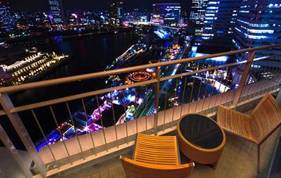 横浜ベイホテル東急 横浜の夜景が見えるホテル