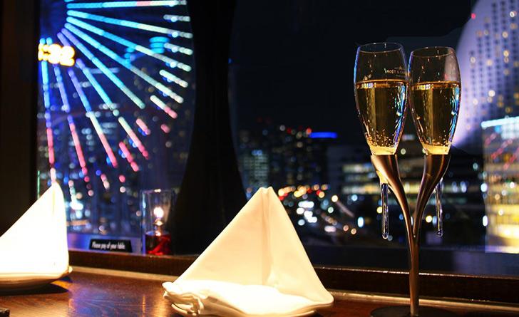 神奈川県・みなとみらい/日本料理・創作和食 美食米門 横浜店からの景色