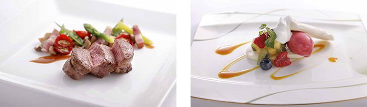 神奈川県・みなとみらい/フレンチ フレンチレストラン ル シエール/横浜ロイヤルパークホテルの料理