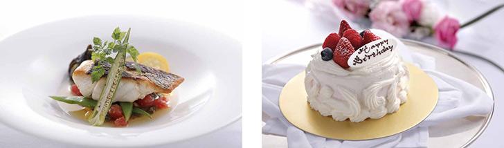 神奈川県・みなとみらい/フレンチ スカイラウンジ シリウス/横浜ロイヤルパークホテルの料理