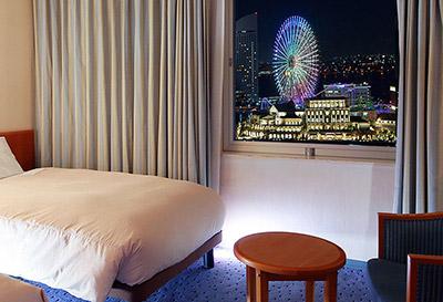 横浜桜木町ワシントンホテル 横浜の夜景が見えるホテル